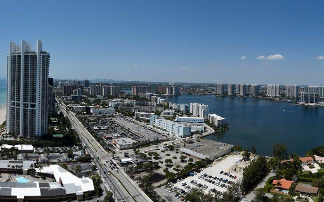Sunny Isles Beach skyline (Credit: Getty Images)