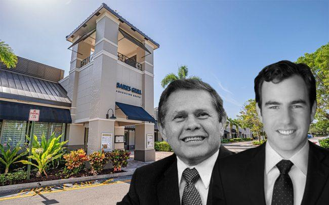 Carlos Mattos and Dylan Fonseca with the Waterway Shoppes of Weston at 2210-2282 Weston Rd (Linkedin, Marcus & Millichap)