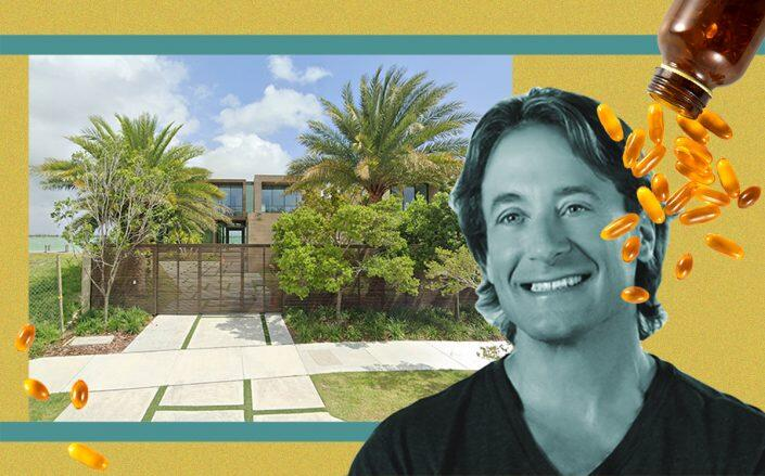 Andrew Lessman with 835 East Dilido Drive (Google Maps, Facebook/ProCaps, iStock)