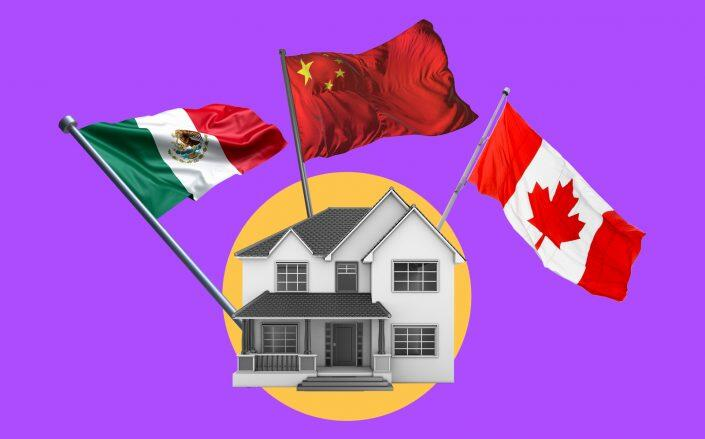 Buyers from neighboring countries made up the biggest percentage of foreign sales. (iStock)